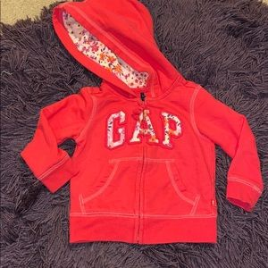 Gap hooded jacket coat
